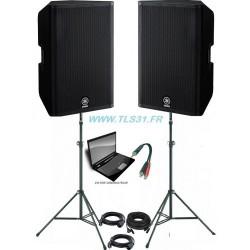 Pack Yamaha DXR15 | 2x1100W