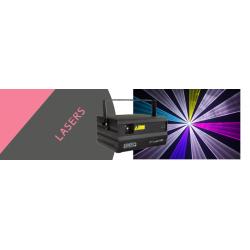 Laser 6w multicolore