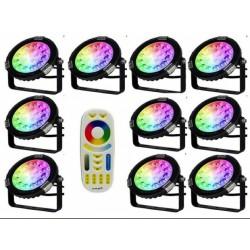 pack 10 projecteurs led...