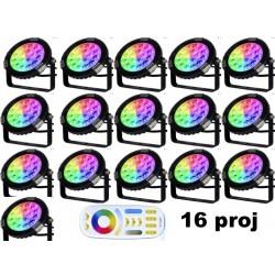 Pack 16 projecteurs led...