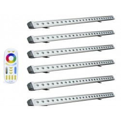 Pack de 6 barres led wifi...