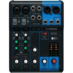 Console de mixage MG06 Yamaha