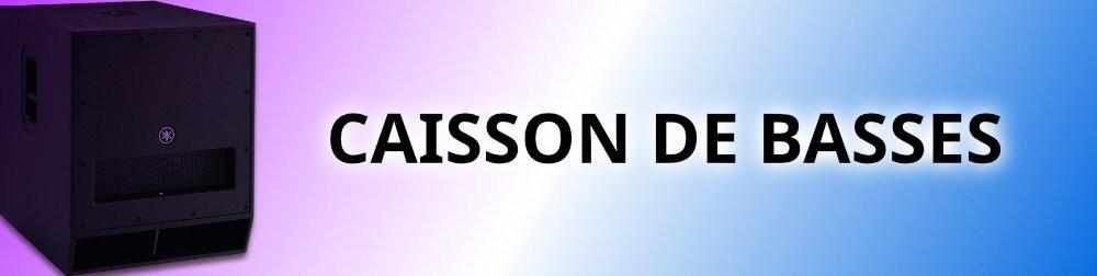 location sono a toulouse, Location caisson de basses amplifiés à  Toulouse